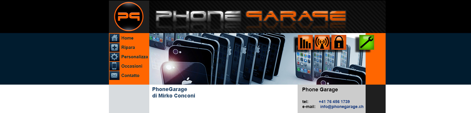 sito internet phonegarage
